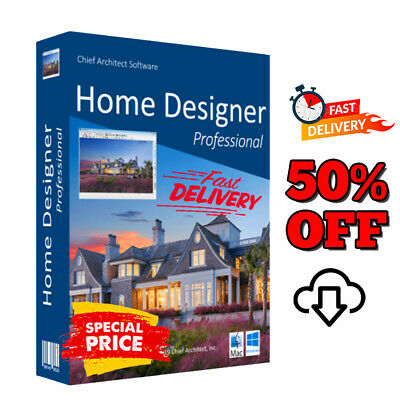 Chief Architect Home Designer Pro 2020 Life Time License Fast Delivery 30s Ebay