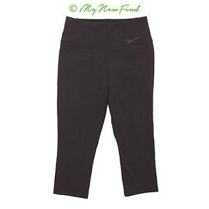 Nike Legendary Capri Leggings S Skinny Running Yoga Pants Black New B62 Ebay