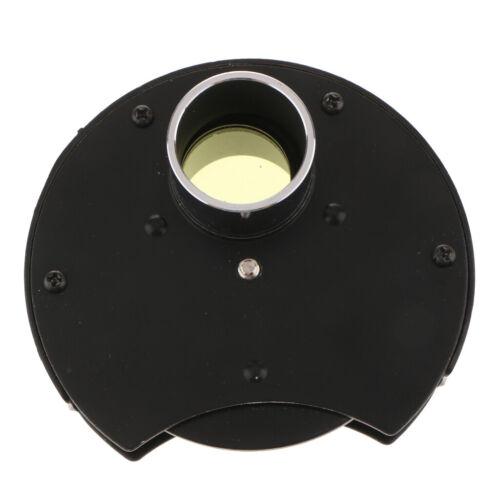 1x Nebelfilter Für Teleskope 1,25 /'/' Format 3 Fach Mehrere Farbfilter Rad W