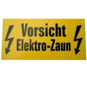 Warnschild-Vorsicht-Elektro-Zaun-Weidezaun-1-Stueck