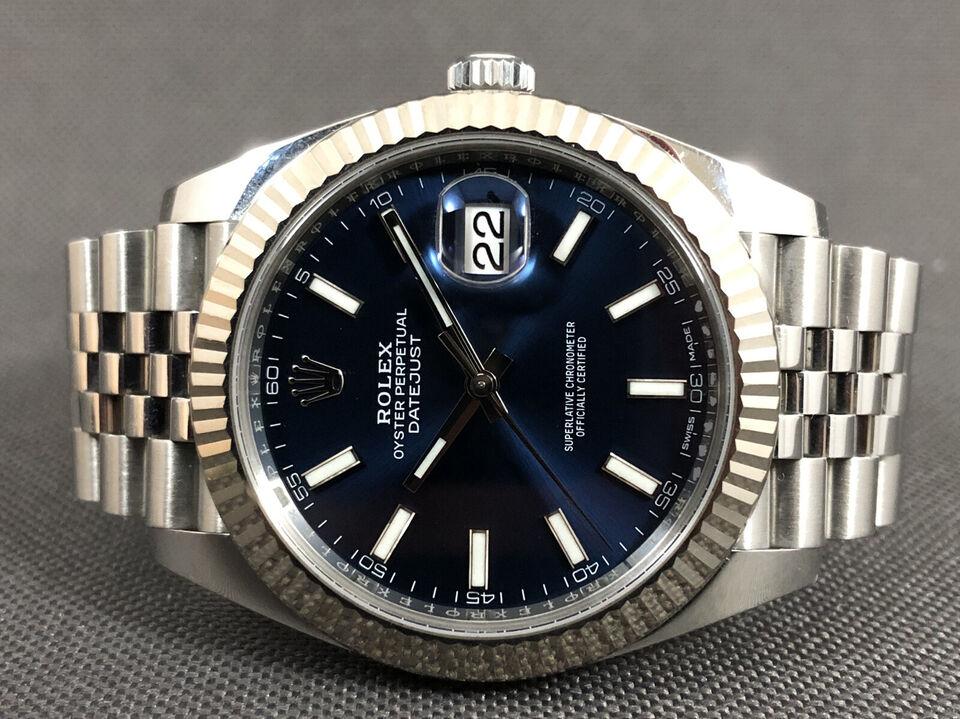Rolex Datejust 41 - Blå - 126334