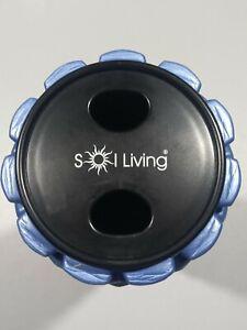 Sol-Living-Yoga-Foam-Roller-Blue-Black-GallyHo