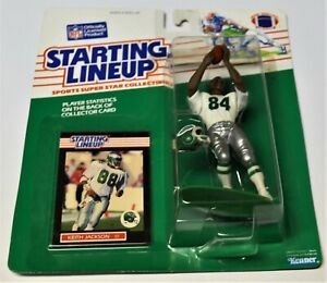 1989 Nfl Kenner Starting Lineup Keith Jackson Philadelphia Eagle-afficher Le Titre D'origine Lissage De La Circulation Et Des Douleurs D'ArrêT