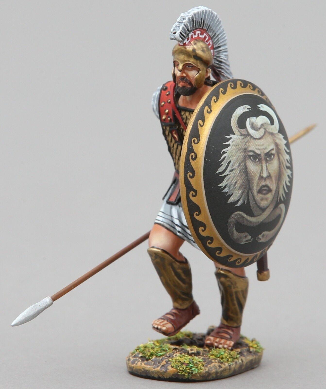 Thomas Gunn Antico Greci & Persiani SPA032B Spartan Caricamento Medusa Scudo MIB