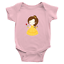 Infant-Baby-Rib-Bodysuit-Jumpsuit-Romper-Clothes-Beauty-amp-Beast-Princess-Belle thumbnail 16