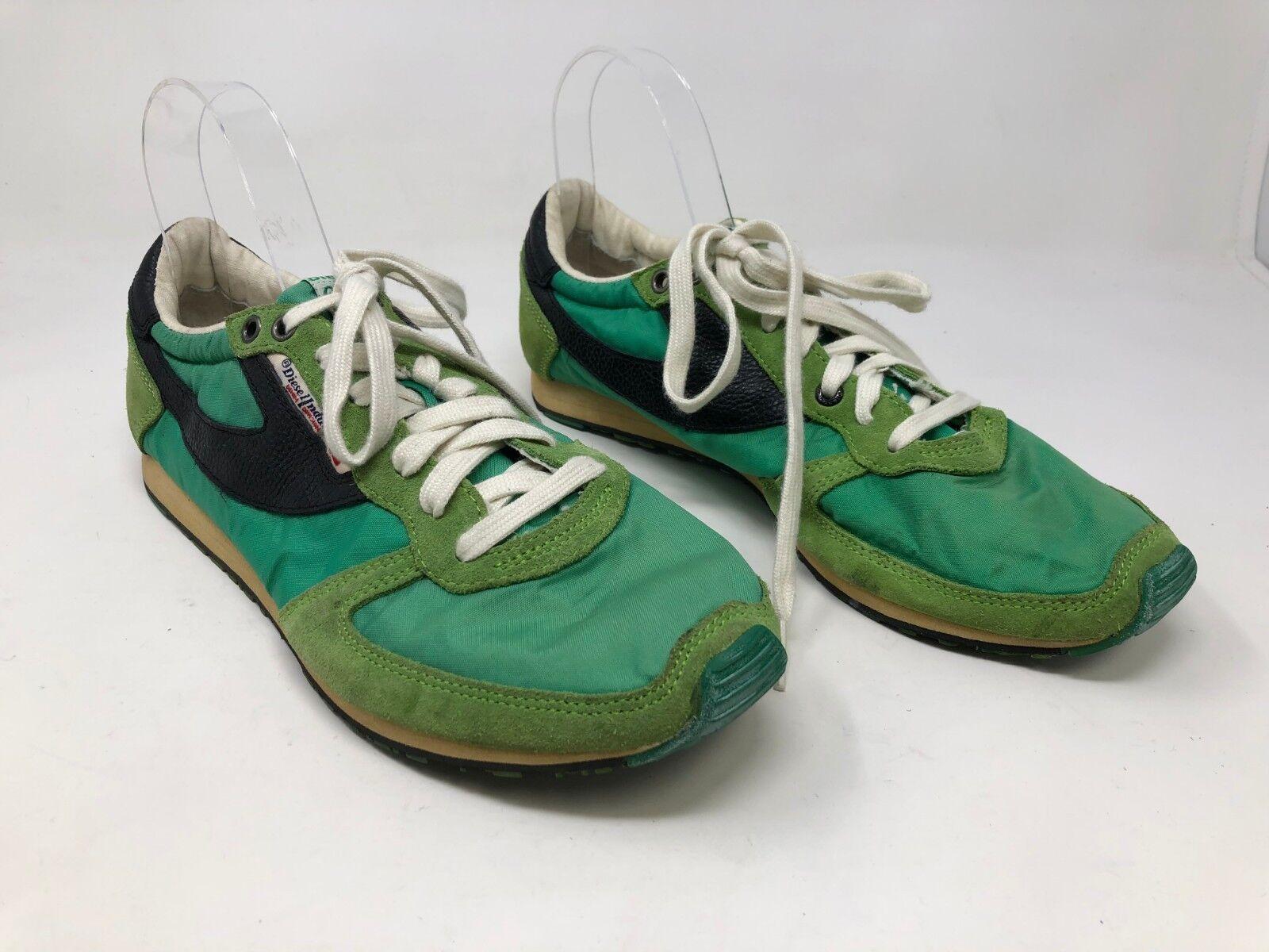 f7df7215 con defecto para hombres Diesel Industry RN93243 verde Negro 67S Nuevo  zapatos nqvvie4624-Zapatillas deportivas