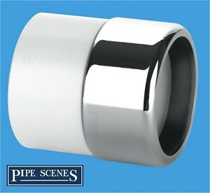 Chrome-Waste-Pipe-32mm-35mm-to-Plastic-Adaptor-Coupling