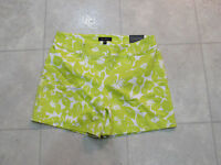 The Limited Womens Tailored Dress Shorts-size-14-color-lime/white