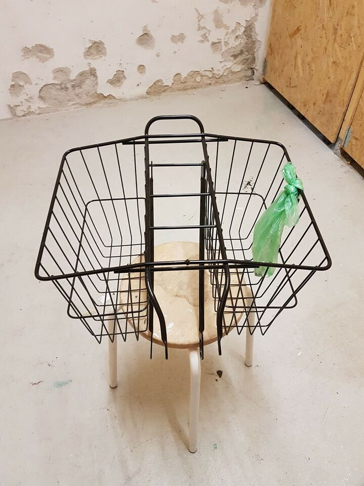Cykelkurv, Wald 520 medium Twin Basket