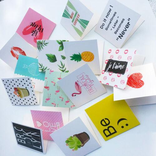 Karikatur-Geburtstags-Gruß-Karten 10 MAL //set löschen neues Jahr-Gruß-Postkart X