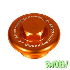Apico BILLET ALEACIÓN Tapón De Llenado Aceite Plug KTM 450 500 525 530 EXC-F 98-17 Naranja