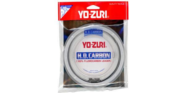 New Yo-Zuri Fluorocarbon Leader 20Lb 100Yds Spool Pink HD20LBDP100SPL