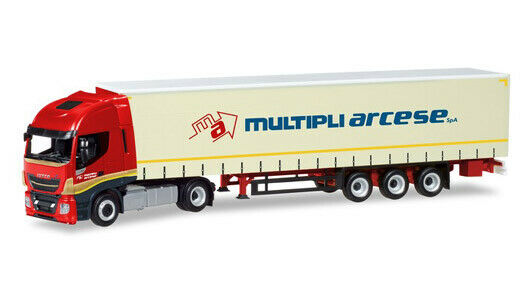 "HERPA 309516 – Iveco Stralis Highway XP ""Multiple Arcese  - 1 87"