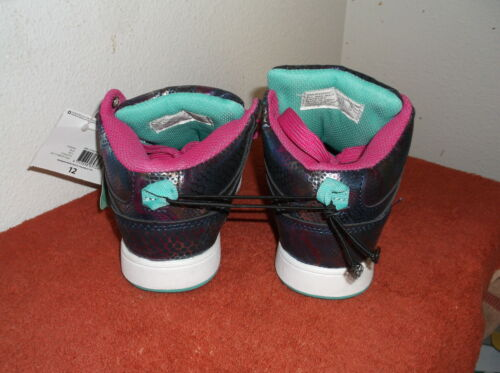 BRAND NEW OP GIRL/'S ATHLETIC BLUE w// PINK HIGHLINGHT PAIR OF SHOES