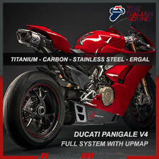 Termignoni Complete Exhaust 4 Uscite Titanium Ducati Panigale V4