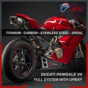 Termignoni Complete Exhaust 4 Uscite Titanium Carbon Cap Ducati