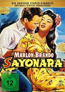 Sayonara [DVD/Nuovo/Scatola Originale] Marlon Brando, James Garner, Patricia Owens, Martha