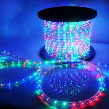RGB LED Rope Light 110v Home Party Christmas Decorative In outdoor