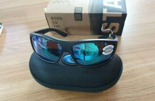 Costa Del Mar SALTBREAK BK 11 OGMGLP Sunglasses Black Green Mirror 580G