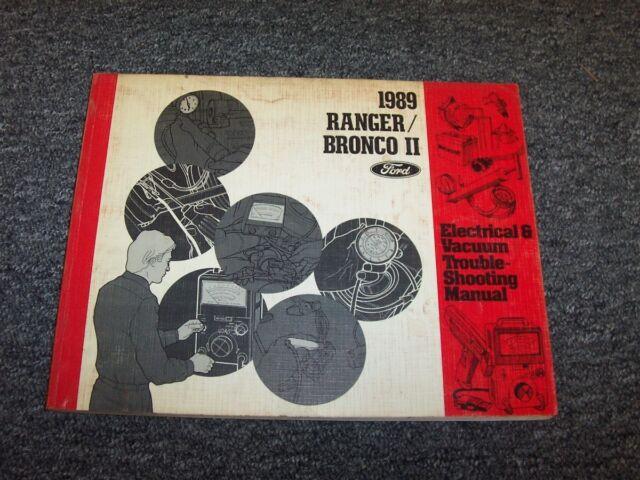 1989 Ford Ranger  U0026 Bronco Ii 2 Truck Electrical Wiring