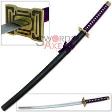 Ninja Sword Anime Japanese Samurai Katana Cosplay Steel Replica Prop Manga