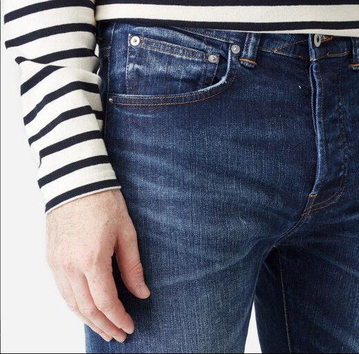 Jeans Jeans Jeans EDWIN Herren ed 80 slim (CS Nacht Blau-Kontrast clean) W36 L32 wert  | Fuxin  fadee5