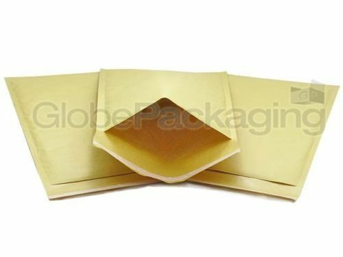 500 x AROFOL AR8 GOLD BUBBLE ENVELOPES PADDED BAGS 270x360mm H//5  *24HR DEL*