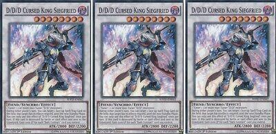 D//D//D Cursed King Siegfried 1st Edition Near Mint - Super Rare SDPD-EN042