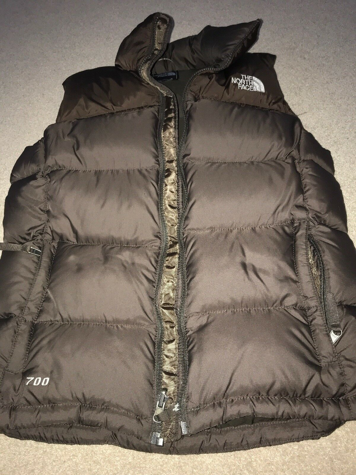 Womens Size medium North Face Gilet
