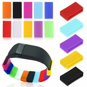 10x Silicone Security Band Clasp Ring Loop Fastener For FitBit charge/charge HR