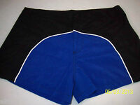 Swim Briefs Under Gear By International Male Royal/black With Lining Sz. 30