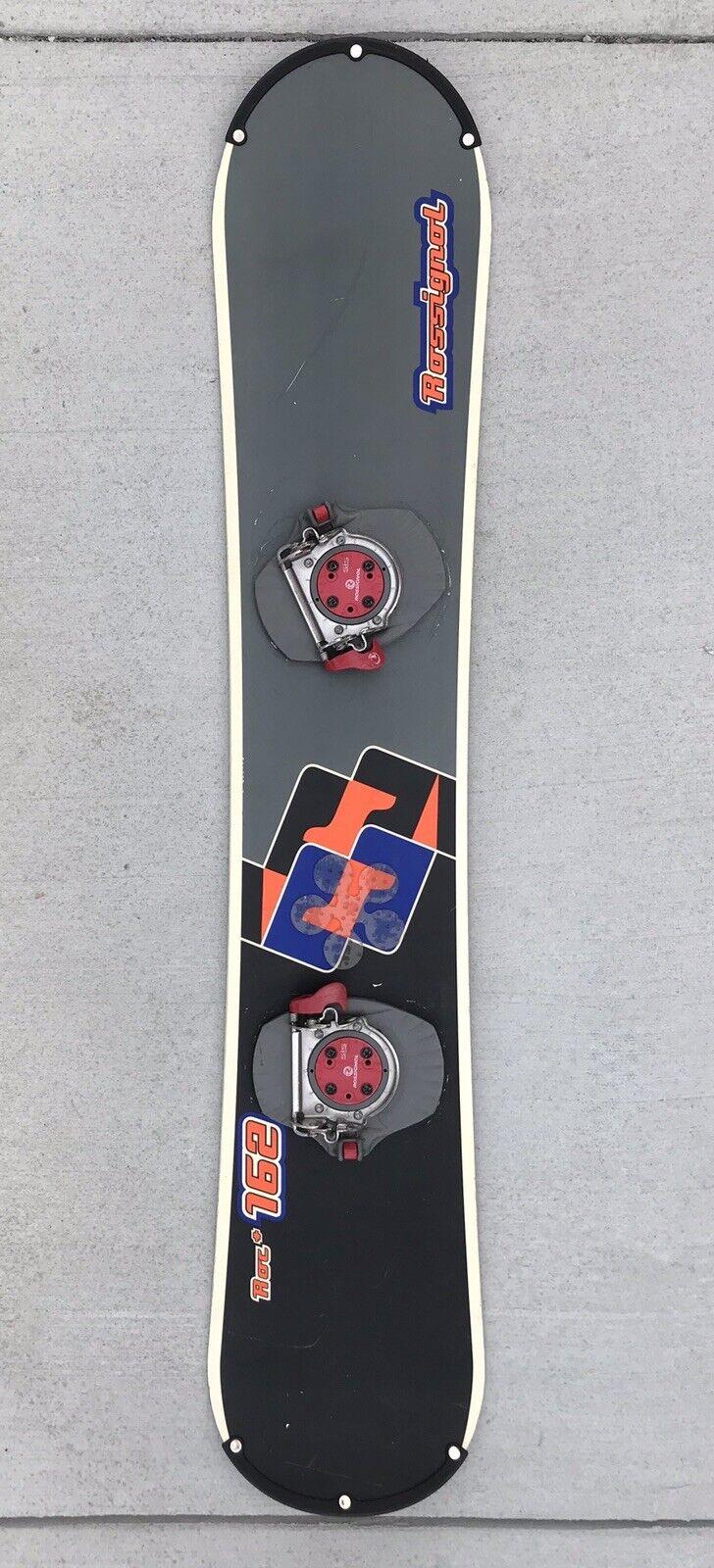 Officiële Rossignol Model Roc 162 Snowboard 63 65533; 162cm Langgebruikt
