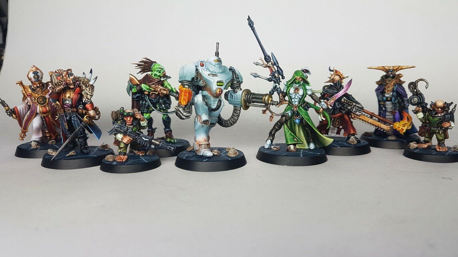 Warhammer Quest negrostone fortaleza Miniatures-PROPAINTED comisión a pedido