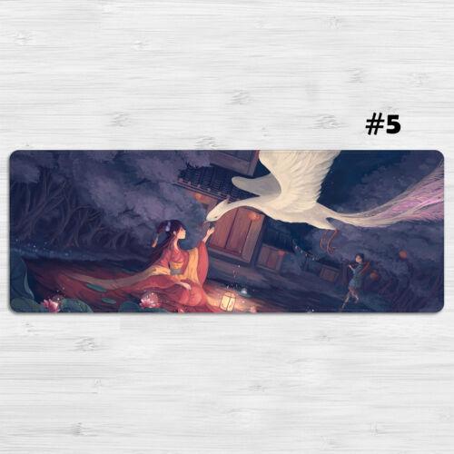 Surrealism Illustrations Mouse Pad Large Size Laptop Mat XXL Mousepad 80*30cm