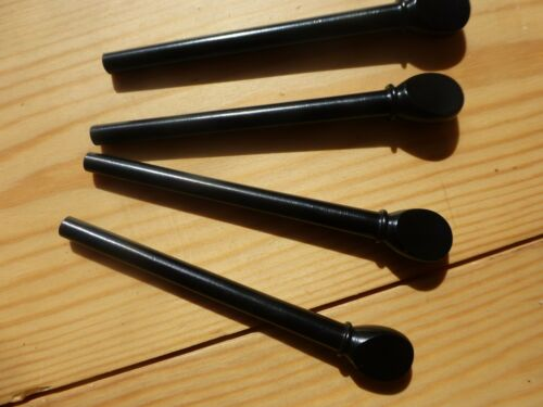 LUTE PEGS, SET OF 12, PROFESSIONAL QUALITY, CHOOSE EBONY OR BOXWOOD!