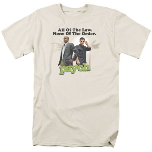 NONE OF THE ORDER Licensed T-Shirt All Sizes Psych TV Show ALL OF THE LAW