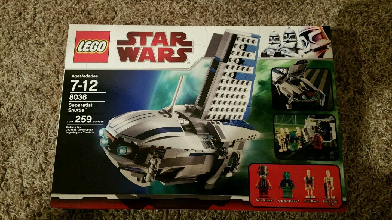 LEGO 8036 SEPARATIST  SHUTTLE  nuovo IN scatola  Felice shopping