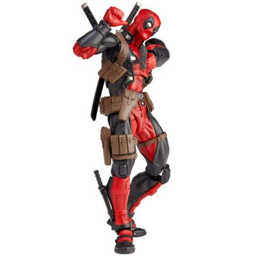 "15cm Deadpool Revoltech Series No.001 Kaiyodo 6/"" Action Figure Complexe Xmas"