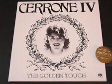 Cerrone IV The Golden Touch LP + CD Malligator Because Reissue France Gold Vinyl