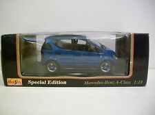 Nice 1:18 Scale Special Edition 1997 MERCEDES BENZ A-CLASS Die-cast By Maisto