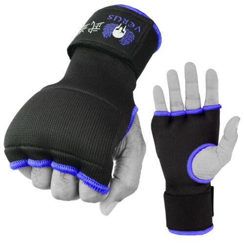 Verus Inner Gel Boxing Glove Hand Wraps Pair Blue//Black size Large//Xlarge