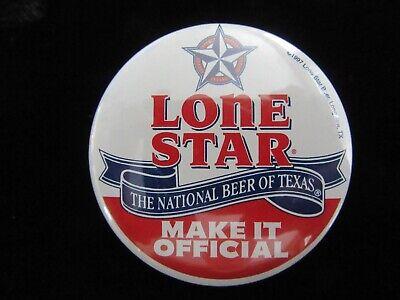 Lone Star Beer Vtg Lapel Hat Pin