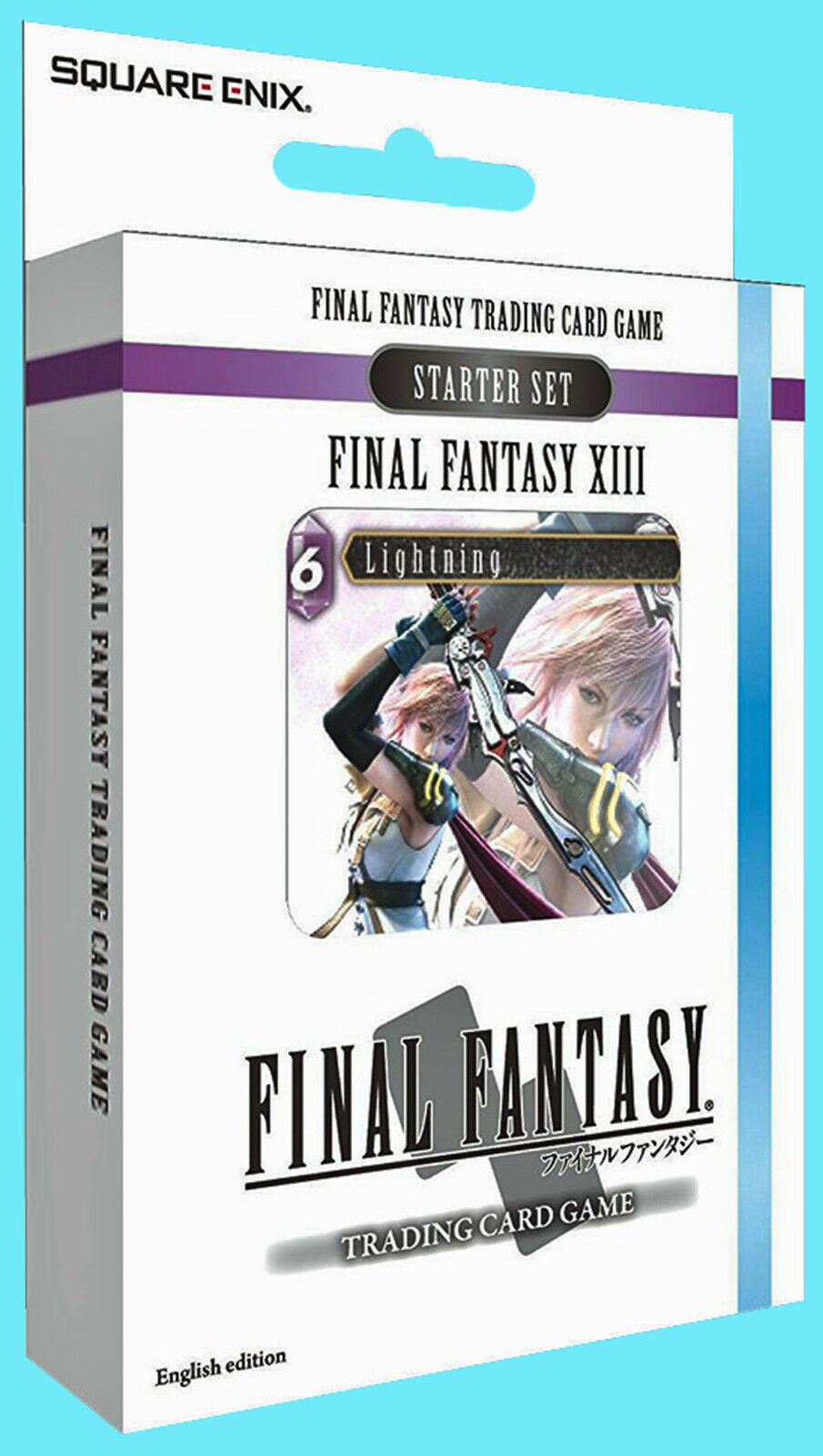 FINAL FANTASY XIII TRADING CARD GAME STARTER DECK Ice /& Lightning NEW TCG Opus I