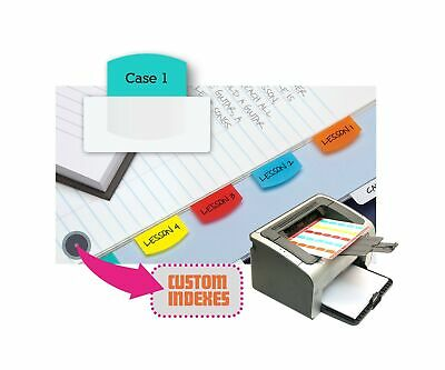 photograph about Printable Tabs named Redi-Tag Laser Printable Index Tabs, Everlasting Adhesive, 1-1/8 x 1-1/4 Inches eBay