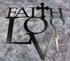 Faith-Love-and-Hope-with-Cross-Metal-Wall-Art-12-034-Black