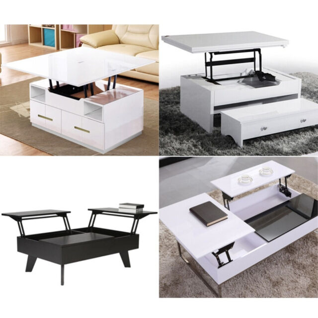 Lift Up Large Top Coffee Table Desk Mechanism Hardware Furniture