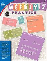 Math, Grade 2 (weekly Practice)