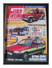 Feuerwehr Magazin - Ausgabe Nr. 3 - 03.1998 - Zustand: 1   #3737#
