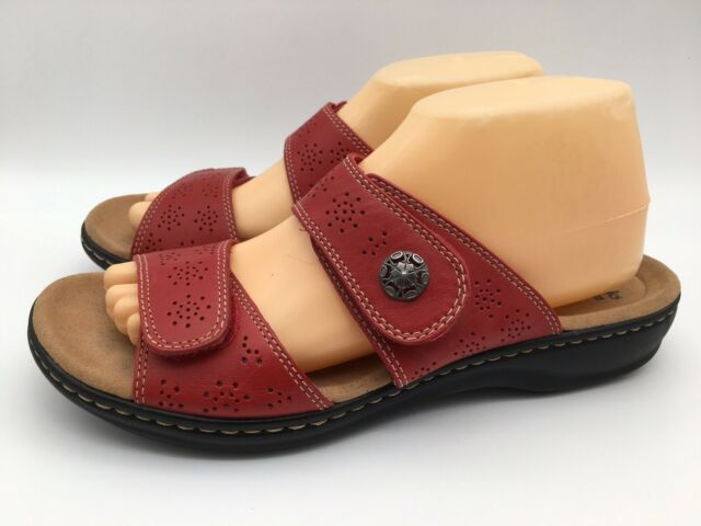 LEATHER COLLECTION LADIES OPEN TOE SLIP ON MULES FLAT SUMMER SANDALS F0R0234