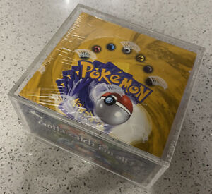 1999-2000-Base-Set-4th-Print-Booster-Box-Made-In-UK-Sealed-See-Pics-Not-Mint